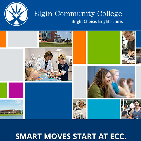 Responsive and mobile friendly website redesign for Elgin Community College in Elgin, IL.